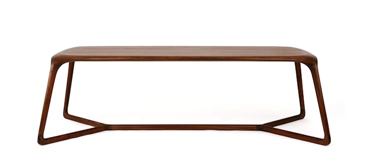 DUBU (dining table-8p): KIMKIWON furniture의  다이닝 룸