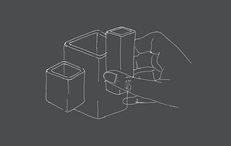 La Modul'Cup // Concours AGORA (Design) La tasse à café:  de style  par Sophie Clot ID