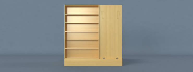 Dieci: Camera da letto in stile  di Davide Conti Design Studio,