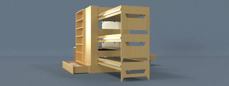 Dormitorios de estilo  de Davide Conti Design Studio