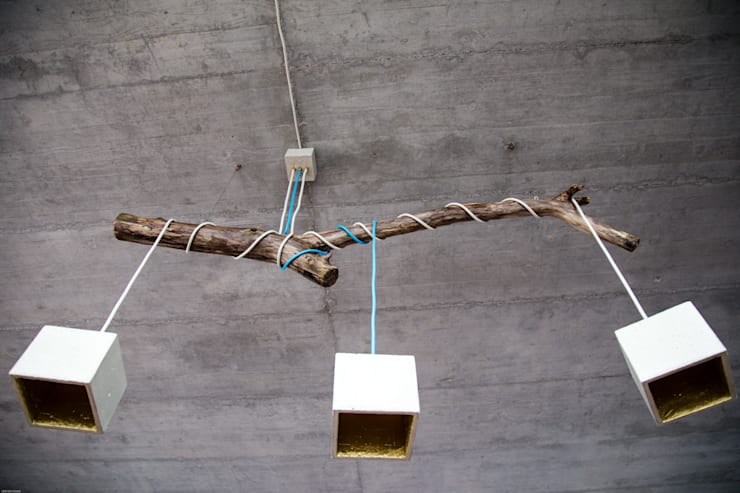 """Goldstück """"Zweiflammig"""" oder """"Dreiflammig"""" :   von Beton Cube"""