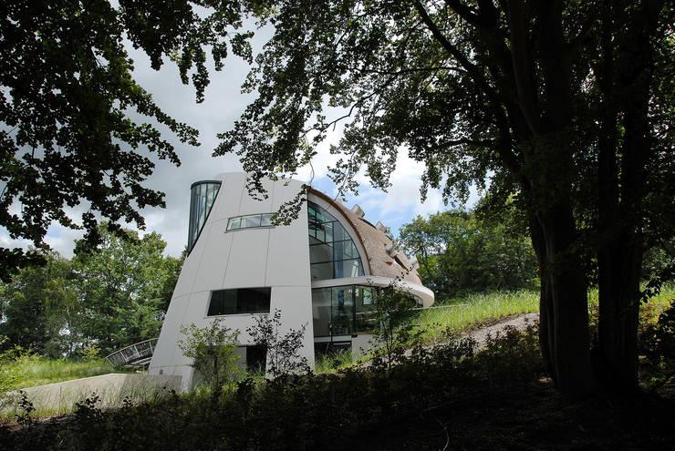 Villa Beekbergen:  Huizen door Factor Architecten