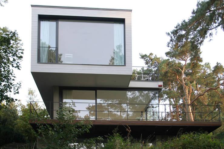 Projekty,  Domy zaprojektowane przez THOMAS BEYER ARCHITEKTEN