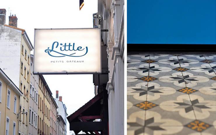 Little – Petits gâteaux : Locaux commerciaux & Magasins de style  par Johany Sapet Design