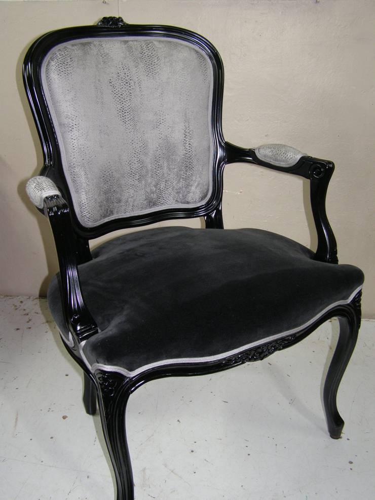Cabriolet style Louis XV: Salon de style  par JC Pellissier