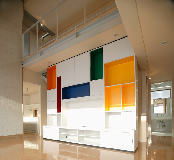 「クライミングウォールの家」: 有限会社松橋常世建築設計室が手掛けたです。,