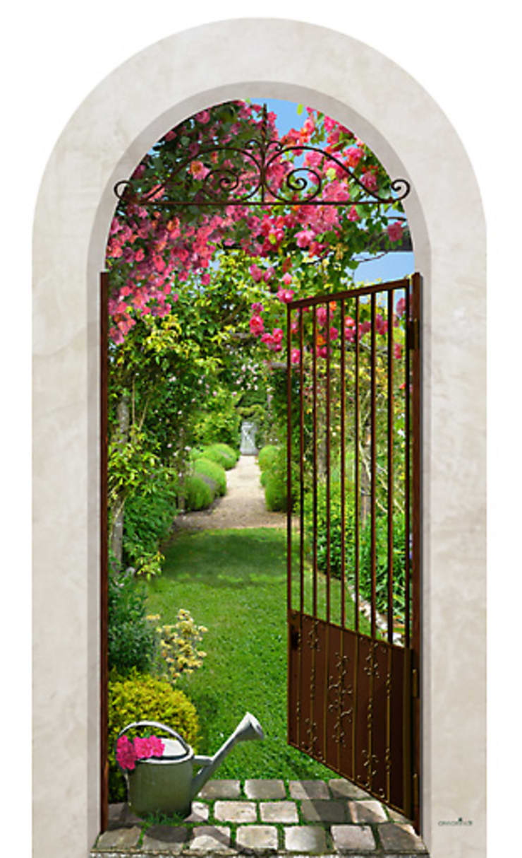 Jardin de roses: Maison de style  par Creamint