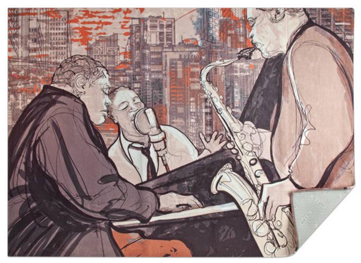 Jazz: Soggiorno in stile  di tappeti made in italy