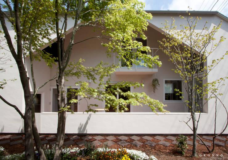 向陽ロッジアハウス: KONNOが手掛けた家です。,