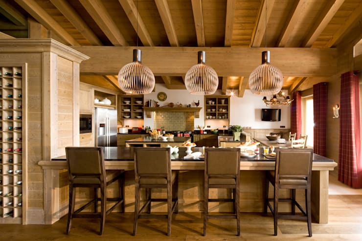 Chalet, Val d'Isère:  Houses by Helen Green Design