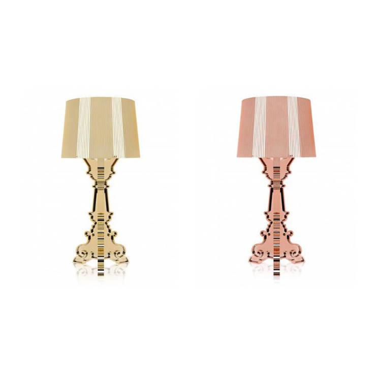 Lampes Bourgie or et cuivre - Kartell:  de style  par Astéri