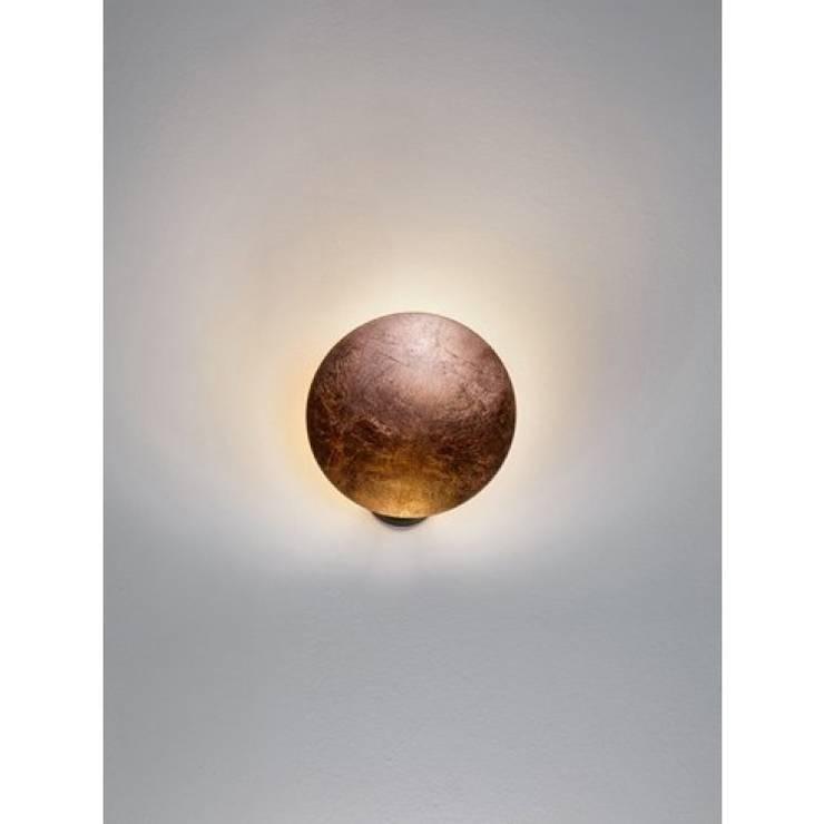 Applique Lederam cuivre - Catellani & Smith:  de style  par Astéri