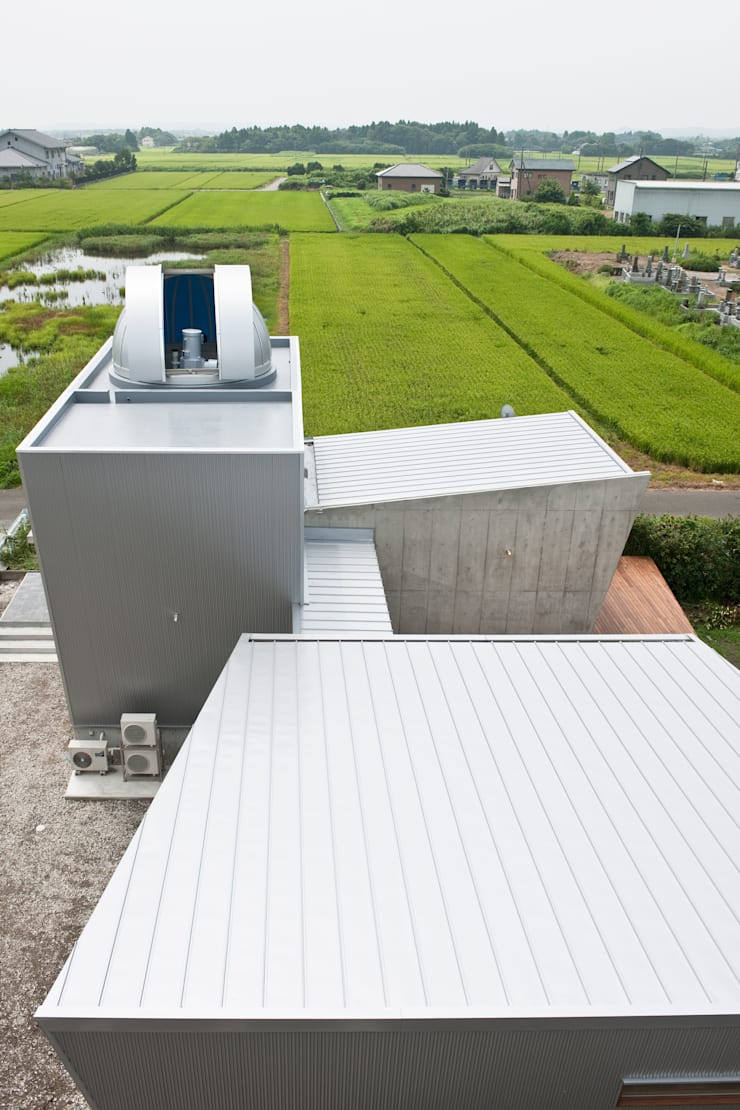 天体望遠鏡のある家: tai_tai STUDIOが手掛けた家です。,