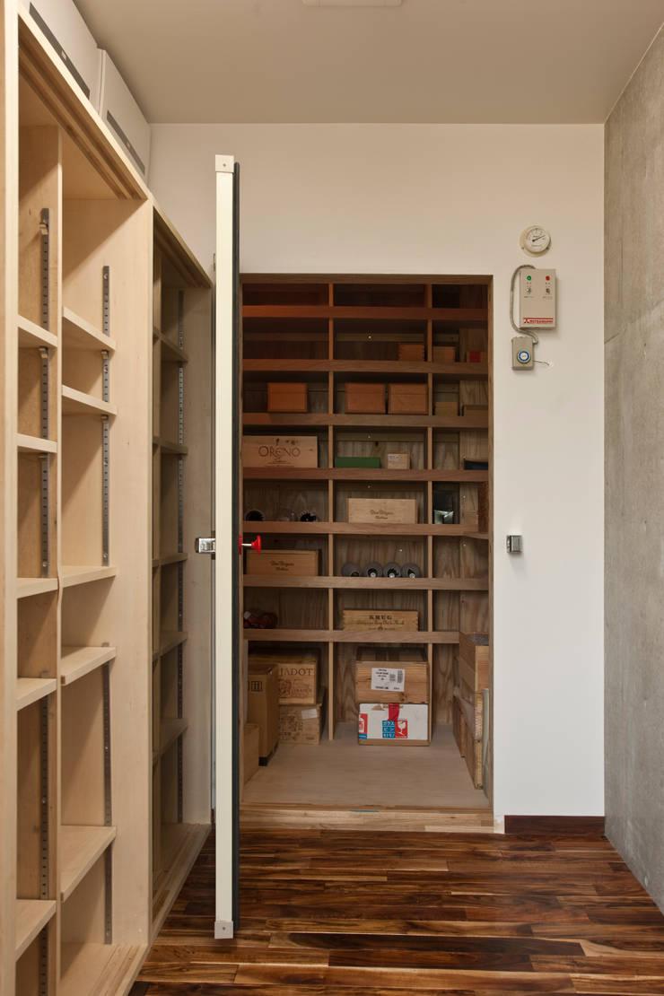 天体望遠鏡のある家: tai_tai STUDIOが手掛けた和室です。,