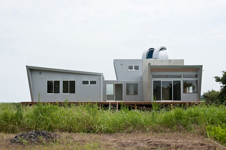 天体望遠鏡のある家: tai_tai STUDIOが手掛けた家です。