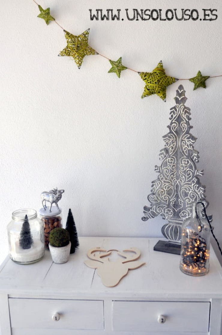 Decoración de Navidad: Hogar de estilo  de UnSoloUso