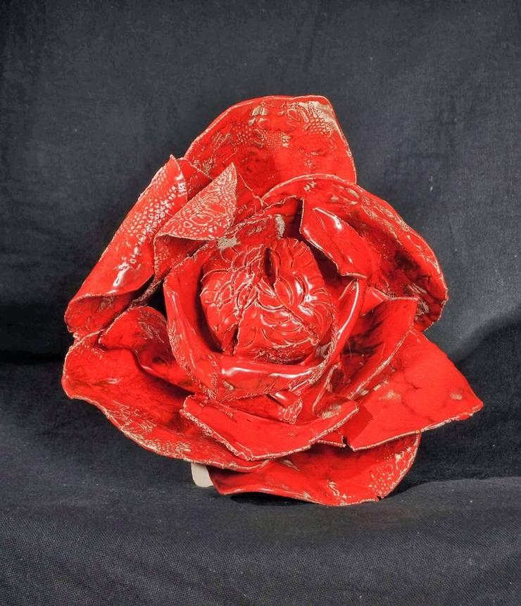 """Rouge sang"": Art de style  par Atelier DOUARN, Sandrine RAMONA NERROU"