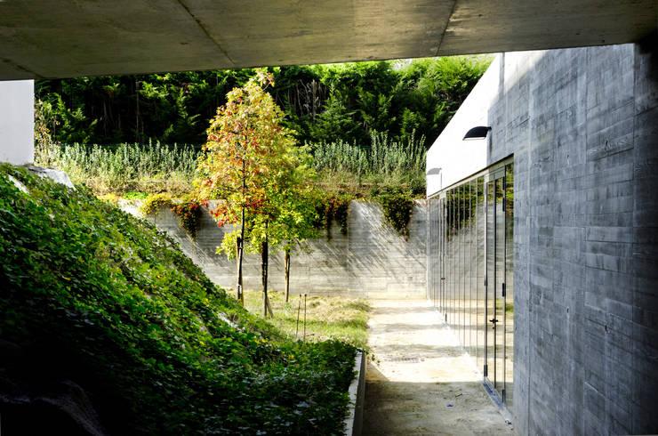Construction d'un Service de Restauration et Restructuration du Lycée de la Vallée de Chevreuse à Gif sur Yvette (91) :  de style  par Alain Rihn Architecte