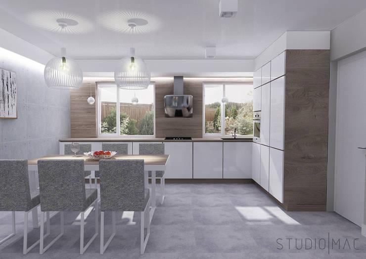 Kuchnia w stylu nowoczesnym: styl , w kategorii Kuchnia zaprojektowany przez STUDIO MAC