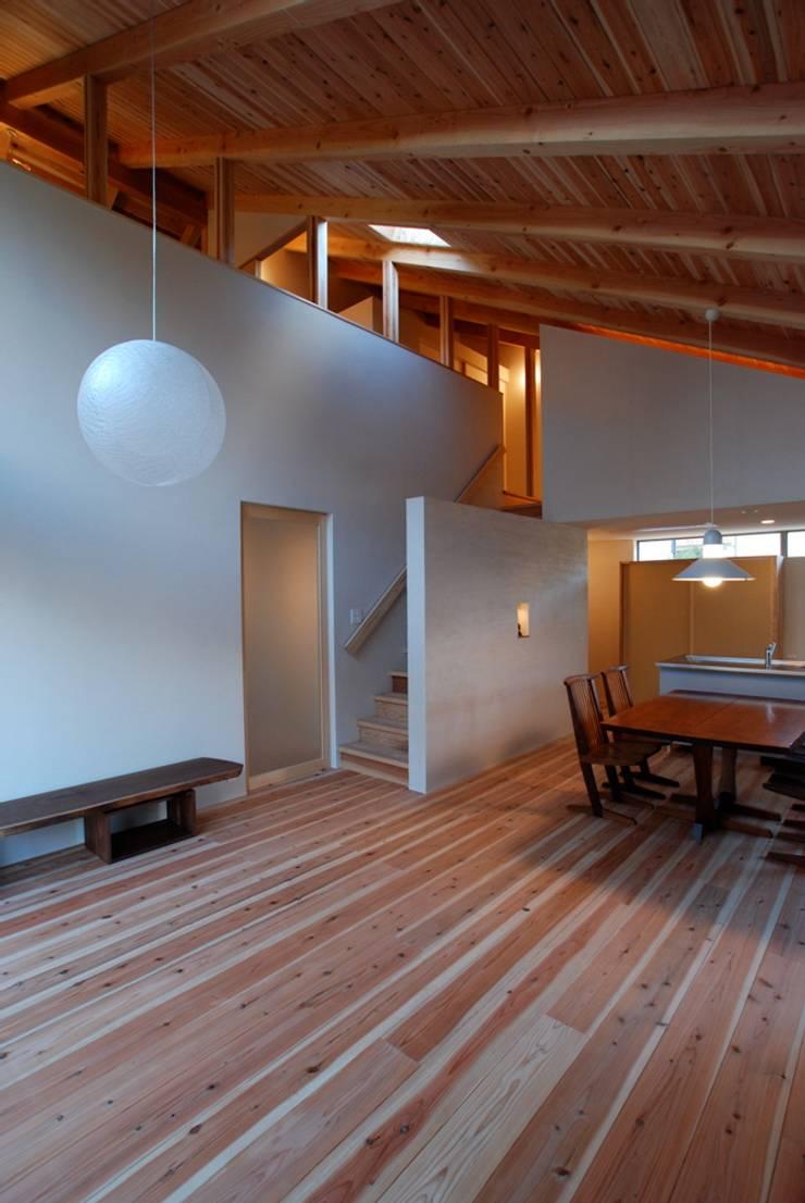 SATE -扠-: 作人 -Architecture Design Sakutto-が手掛けたリビングです。