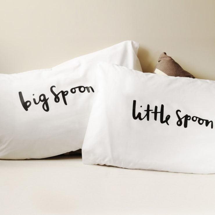 Spooning pillows:  Bedroom by Old English Company