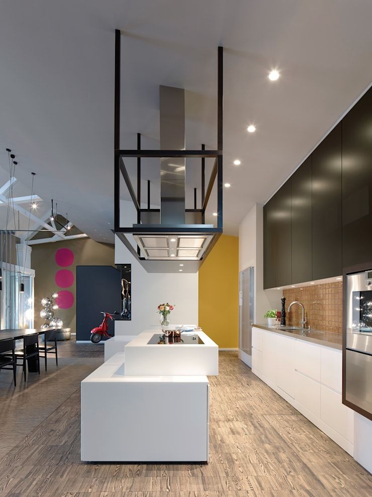 Loft ESN:  Küche von Ippolito Fleitz Group – Identity Architects,