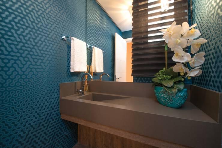 Projeto Residencial: Casas modernas por Actual Design