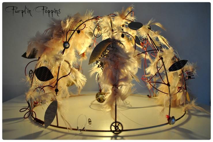 L'atelier Purpl'in: Mobilier, luminaires et scénographie: Art de style  par L'atelier Purpl'in