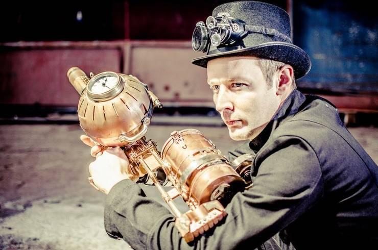 L'atelier Purpl'in: La scénographie Steampunk: Art de style  par L'atelier Purpl'in