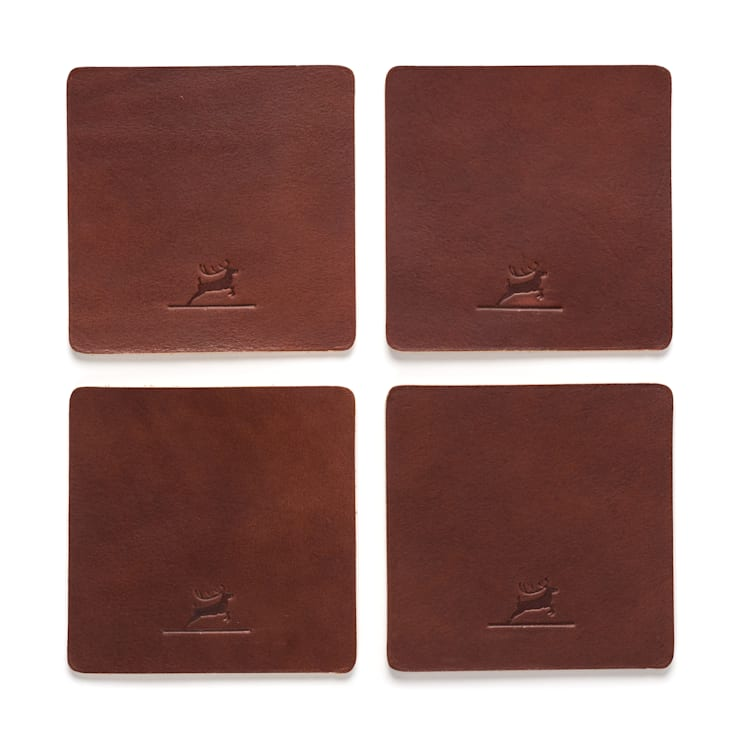 "Leather Coasters Brown: {:asian=>""asiatisch"", :classic=>""klassisch"", :colonial=>""kolonial"", :country=>""landhausstil"", :eclectic=>""eklektisch"", :industrial=>""industriell"", :mediterranean=>""mediterrane"", :minimalist=>""minimalistisch"", :modern=>""modern"", :rustic=>""rustikal"", :scandinavian=>""skandinavisch"", :tropical=>""tropisch""}  von Rothirsch GmbH,"
