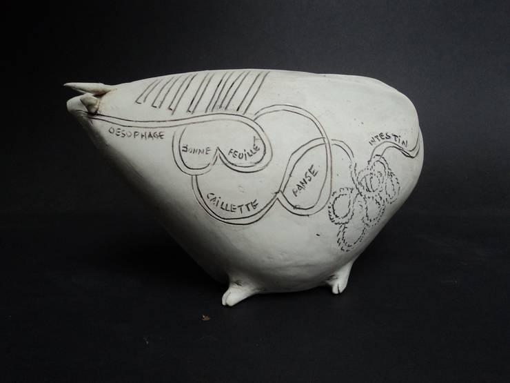 sculptures-objets ceramique: Art de style  par GF Gueneau