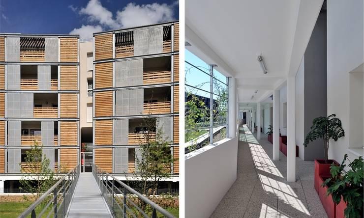 Coursives et Loggias:  de style  par SAS d'Architecture Thierry BOUTIN