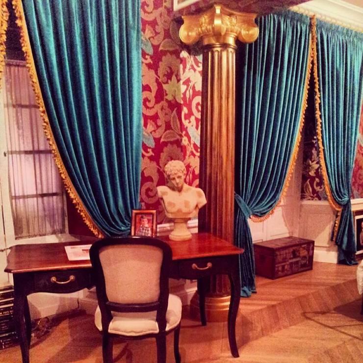 Habitación en casa antigua: Dormitorios de estilo  de Matices, decoración y pinturas S.L.
