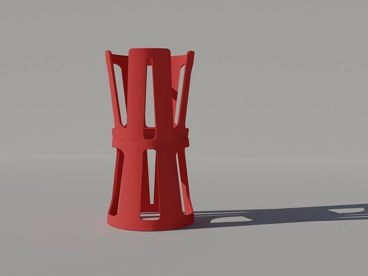 La chaise A: Salon de style  par Margot Crosland