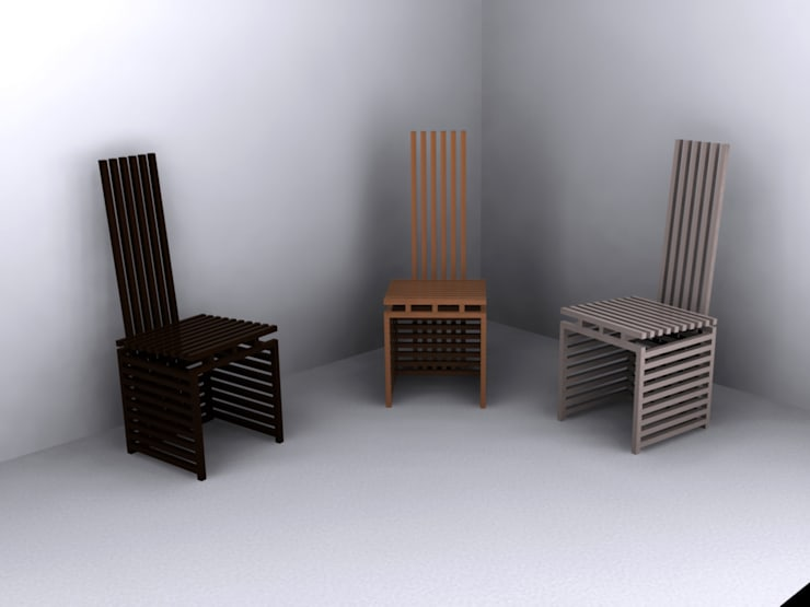 Chopsticks chair - natural series:  de style  par  - I'MLC