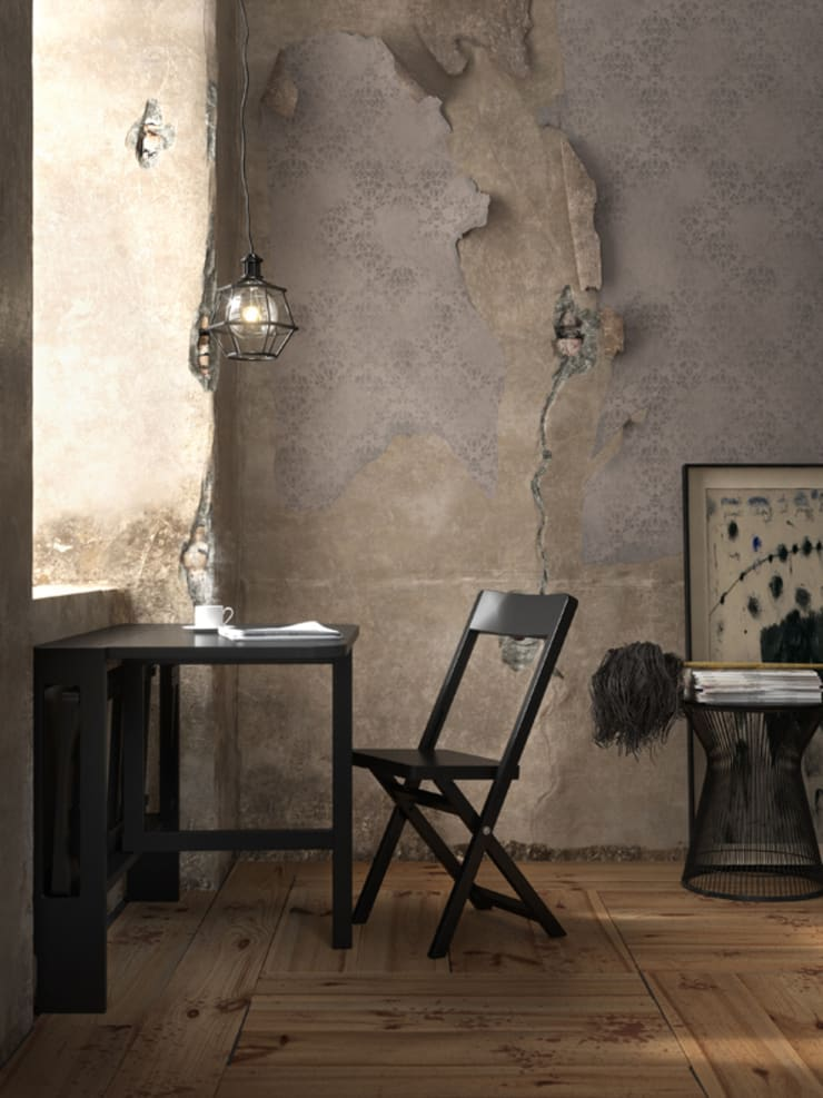 Small space solutions.:  Dining room by Karl Malmvall Design
