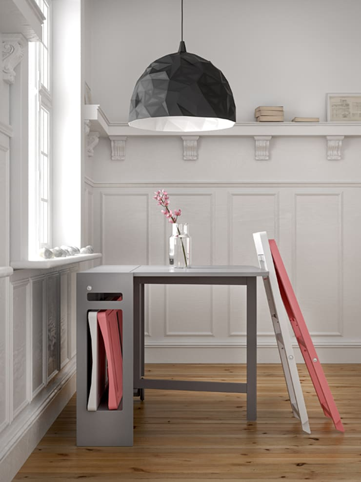 Small space solutions:  Dining room by Karl Malmvall Design