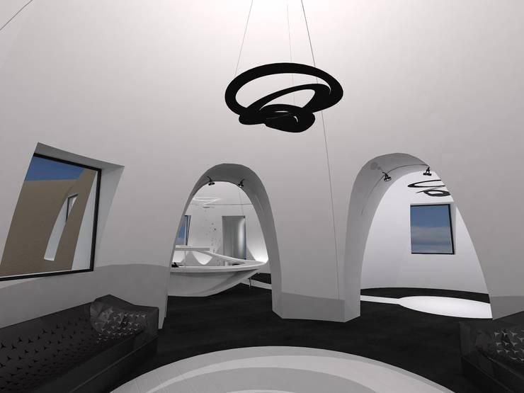 Salon de la réception: Maison de style  par AC architecture