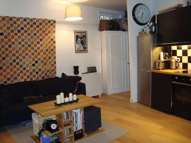 Appartement Paris:  de style  par AC architecture