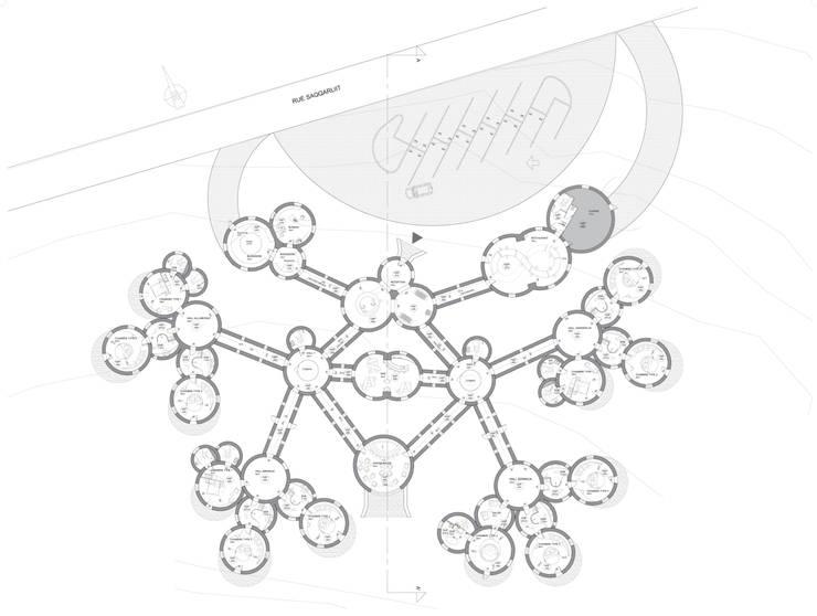 Plan Général: Maison de style  par AC architecture