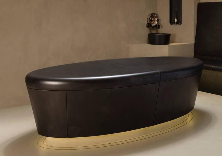 Hamam-Tisch oval: modern  von Sommerhuber GmbH,Modern