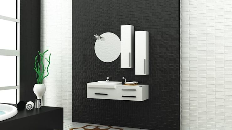 MAESTA BATHROOM FURNITURE – lucido - Maesta Bathrooms:  tarz Banyo