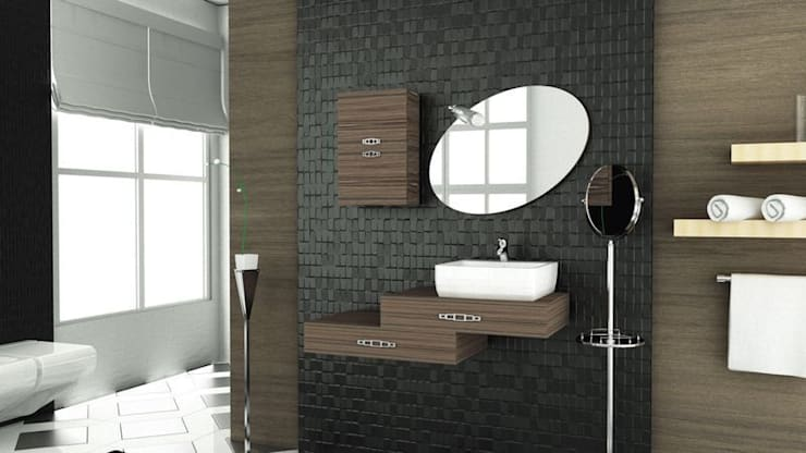 MAESTA BATHROOM FURNITURE – DESTINO - MAESTA BATHROOMS:  tarz Banyo