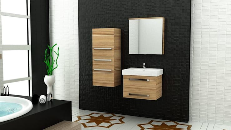 Baños de estilo  por MAESTA BATHROOM FURNITURE