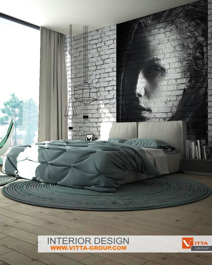 Спальня:  в . Автор – VITTA-GROUP
