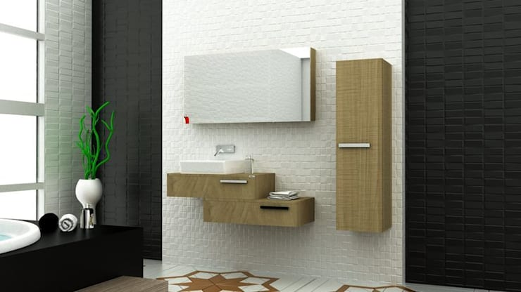 MAESTA BATHROOM FURNITURE – RAUCO - MAESTA BATHROOMS:  tarz Banyo