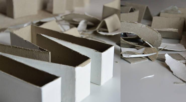 "Betonbuchstabe ""M"":  Kunst  von mx   living"