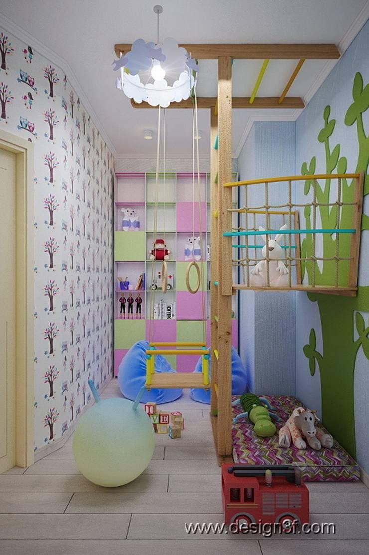 Игровая комната : Детские комнаты в . Автор – студия Design3F