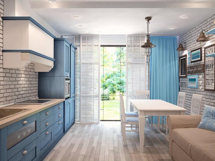Кухня и столовая:  в . Автор – VITTA-GROUP