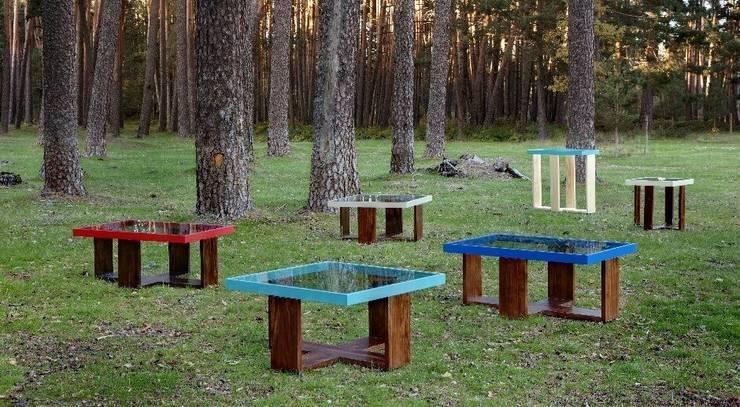 Mesas en nuestro entorno. : Hogar de estilo  de MUEBLES DE LA GRANJA